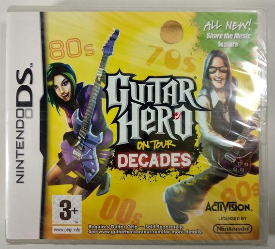 Guitar Hero On Tour Decades Original (lacrado) [europeu] - D
