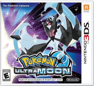 Pokemon Ultra Moon-nintendo 3 Ds En Stock Nuevo