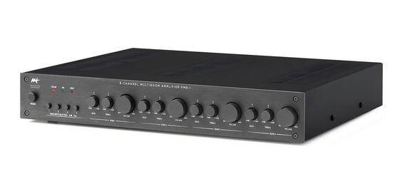 Aat Pmr-1 Amplificador Multizona 8 Canais 4 A 16 Ohms Bivolt