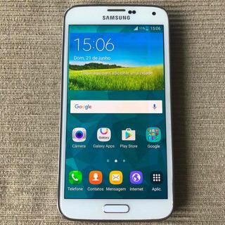 Smartphone Samsung Galaxy S5 16gb G900m Usado Com Burn In