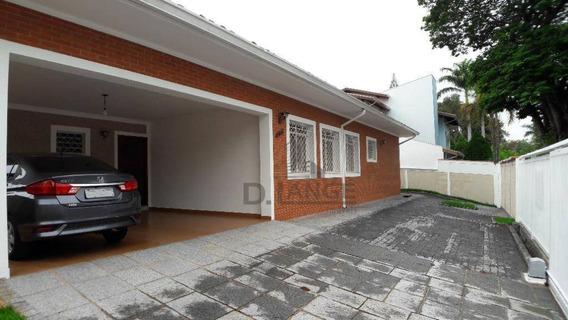Casa A Venda No Parque Taquaral - Oportunidade - Ca13720