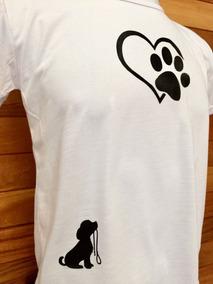 Camiseta Camisa Blusa Cachorro Dog Love Brinde Exclusivo