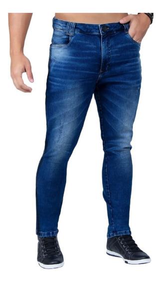 Linda Calça Masculina Com Listra Pit Bull Jeans Original