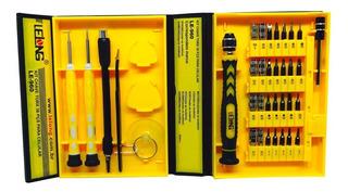 Kit Ferramentas 36 Em 1 Jogo Chaves Reparo Celular Notebook