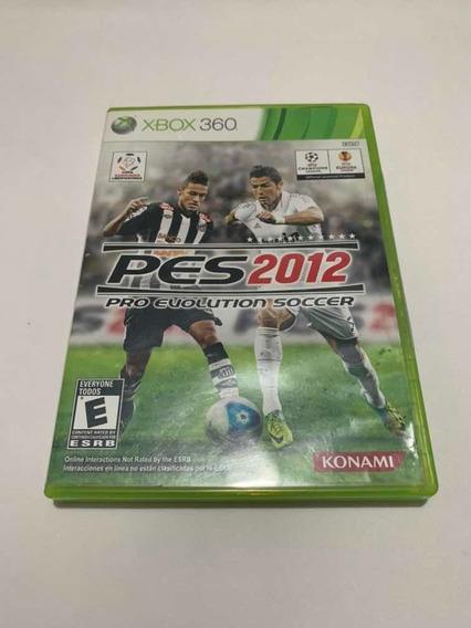Pes 2012 Xbox 360 Pro Evolution Soccer Jogo Original Game