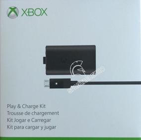 Kit Play And Charge Bateria E Carregador - Controle Xbox One