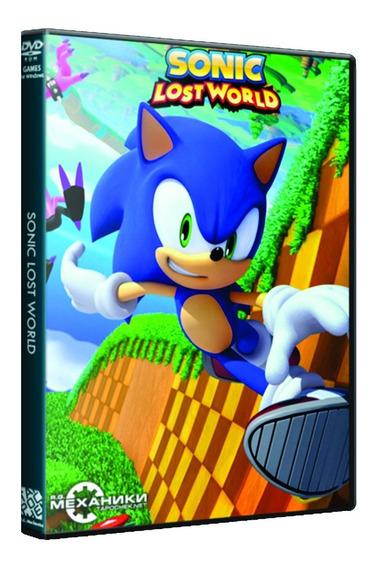 Sonic Lost Worlds - Pc Dvd - Mídia Física - Frete 8 Reais