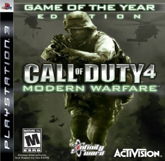 Call Of Duty 4 Modern Warfare Jogo Ps3 Em Oferta