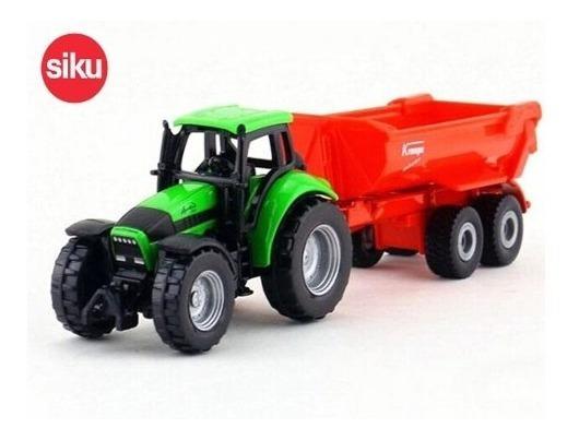 Tractor Deutz Fahr Con Remolque - Siku Super 16