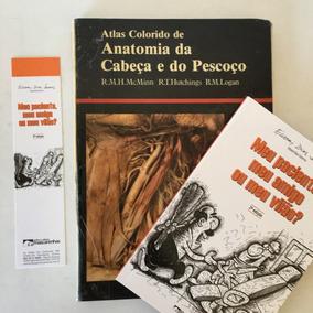 Livro Atlas Colorido Anatomia Cabeça E Pescoço Cód.061.639