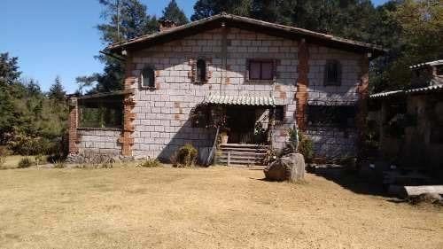 Rancho En Venta, 5,000 M2. Pueblo Santo Tomas Ajusco.tlalpan