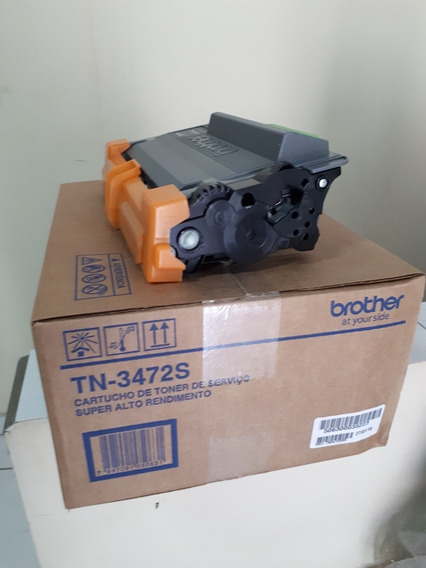 Cartucho De Toner Original Brother Tn3472 Vazio