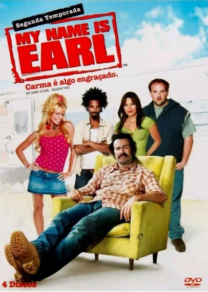 My Name Is Earl 2ª Temporada - Box Com 4 Dvds - Jason Lee