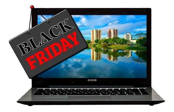 Notebook Cce Ultra T345 Core I3 3° 4gb Hd 500gb Black Friday