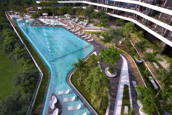 Penthouse De 3 Recamaras En Edificio Sustentable, Puerto Cancun