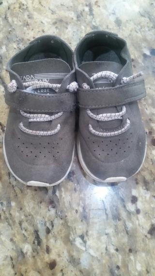 Zapatos Zara Baby De Niño Talla 21 Usados