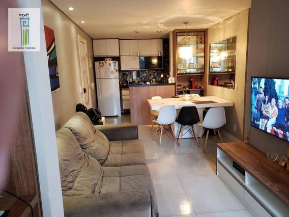 Apartamento Com 3 Dormitórios À Venda, 66 M² Por R$ 425.000 - Vila Guilherme - São Paulo/sp - Ap0648