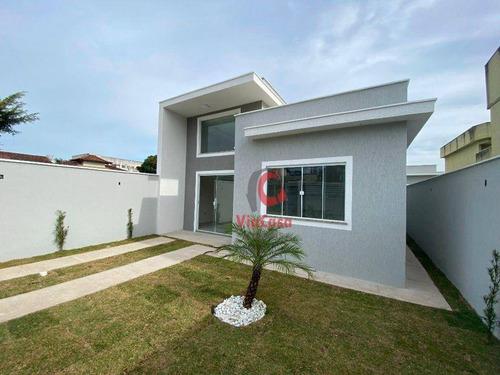 Imagem 1 de 11 de Casa À Venda, 64 M² Por R$ 250.000,00 - Extensão Serramar - Rio Das Ostras/rj - Ca2364