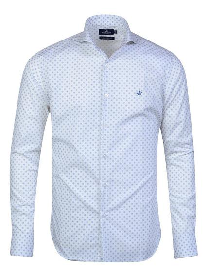 Camisa Hombre Algodón Premium Italiana Slim Fit Brooksfield