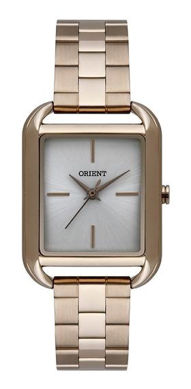 Relógio De Pulso Feminino Orient Dourado Lgss0055 S1kx