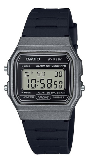 Reloj Casio F-91wm-1b Hombre Envio Gratis