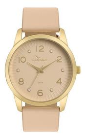 Relógio Condor Feminino Dourado Analógico Co2035kwe/k2m