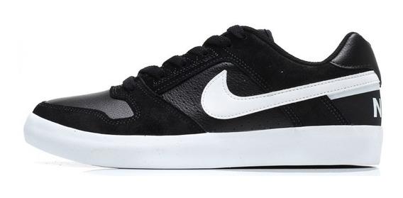 Tênis Nike Sb Delta Force Vulc Preto/branco Original + Nf