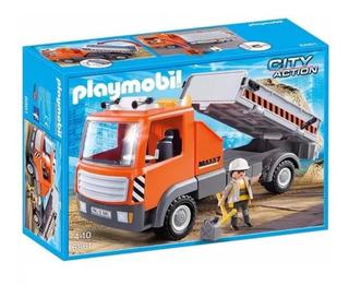 Camion Arenero Playmobil Importado Original!