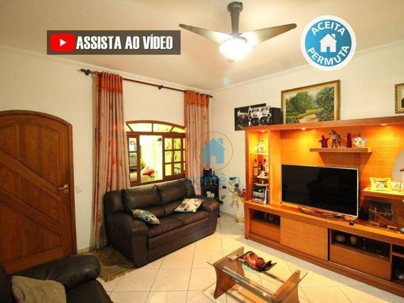 So0096- Sobrado Com 2 Dormitórios À Venda, 200 M² Por R$ 600.000 - Jardim Santa Brígida - Carapicuíba/sp - So0096
