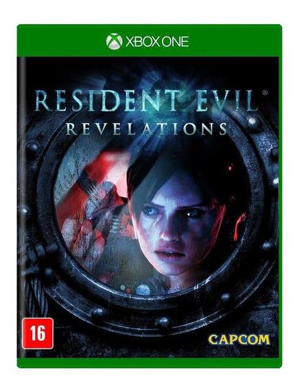 Resident Evil Revelations Xbox One Mídia Física Novo Lacrado