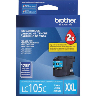 Cartucho Original Brother Lc105c Lc105 Xxl J6920 J4510 J6520