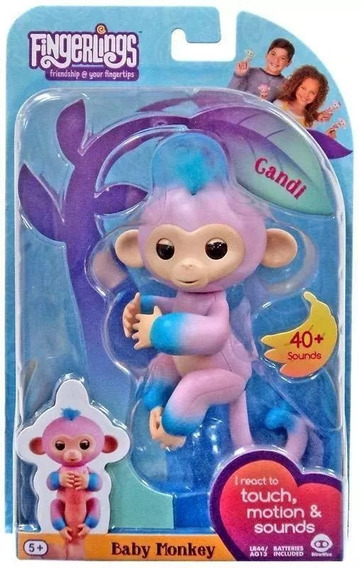 Agarradinhos - Fingerlings - Baby Monkey Candi - Candide
