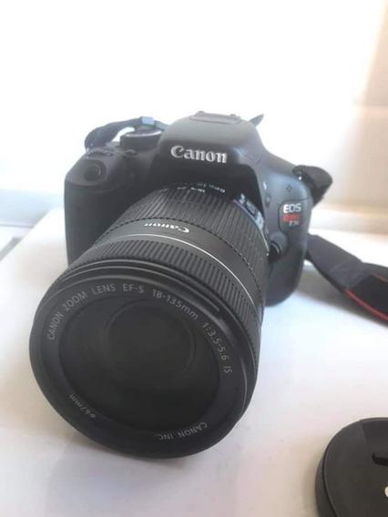 Câmera Canon T3i Com Lente Semi Nova