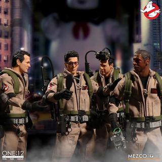 Mezco Ghostbusters One:12 Collective Deluxe Box Set