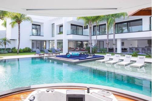 Imagem 1 de 30 de Casa Maravilhosa À Venda, 1300 M² Por R$ 19.000.000 - Acapulco - Guarujá/sp - Ca1070
