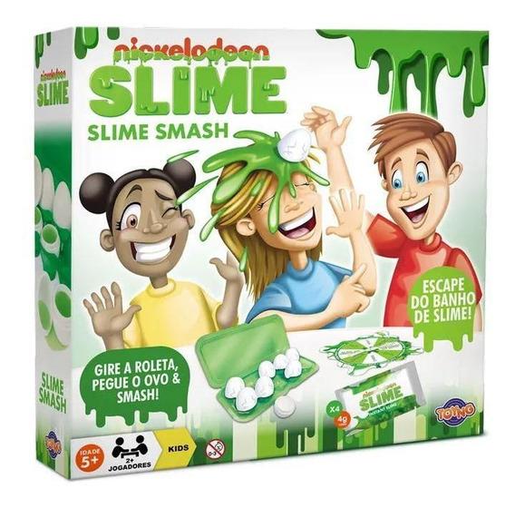 Conjunto De Acessórios - Jogo Slime Smashy - Nickelodeon - T