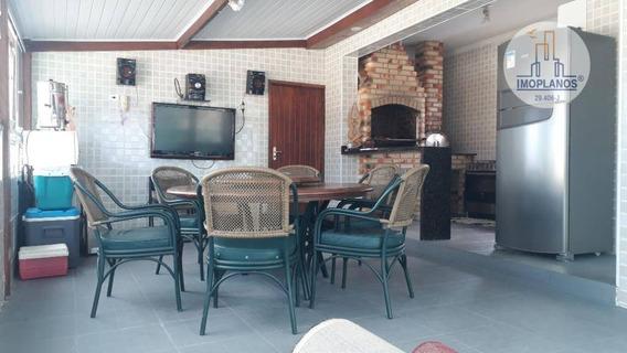 Cobertura Com 3 Dormitórios À Venda, 180 M² Por R$ 745.000 - Boqueirão - Praia Grande/sp - Co0155