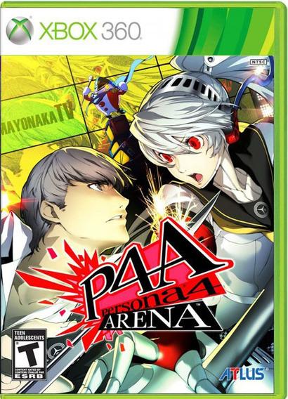 P4a Persona 4 Arena - Midia Fisica - Xbox 360