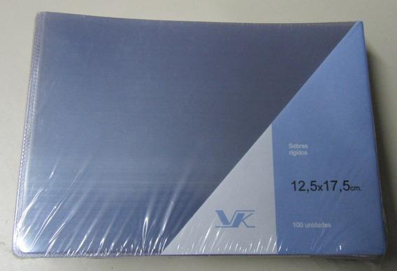 10 Sobres Plásticos Protector Billetes 12.5 X 17.5 Marca Vk