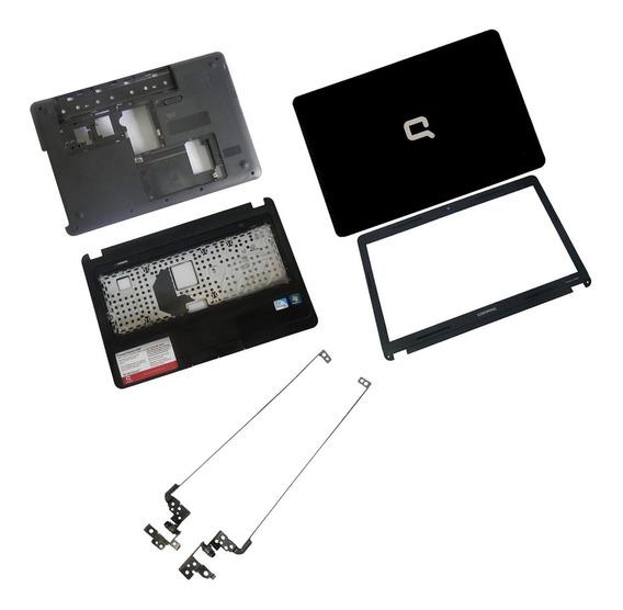 Carcaças Originais Notebook Hp Compaq Cq43 + Dobradiças