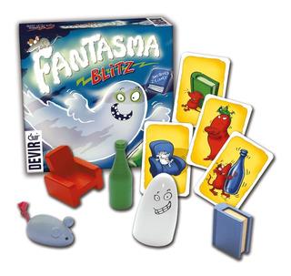 Juego De Mesa Fantasma Blitz Español Devir Oficial