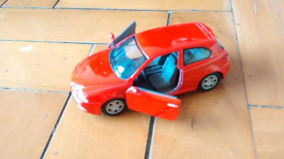 Mini Alfa Romeo 147 Gta Vermelho Kinsmart Escala 1/32 Kt5085