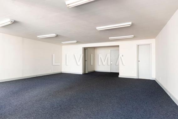 Sala Comercial Para Locação No Centro - Rj - Liv-0948