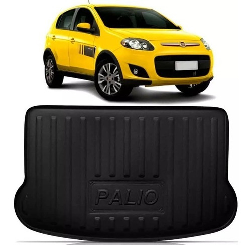 Imagen 1 de 7 de Alfombra De Baúl Auto Rígida Bandeja Fiat Palio Ecotap
