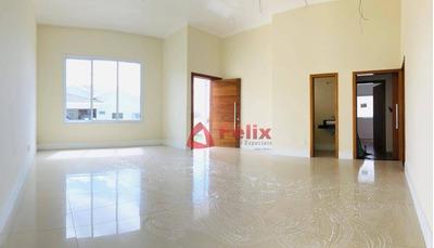 Casa Nova Com 3 Dormitórios À Venda, 173 M², Condomínio Colinas - Taubaté/sp - Ca1396