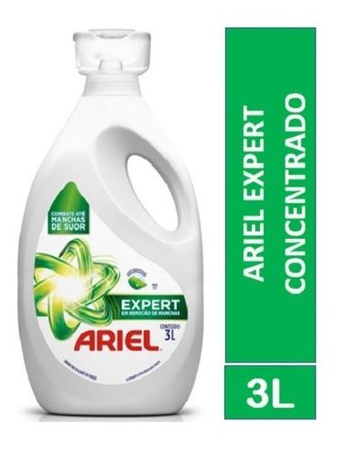 Sabão Líquido Concentrado Ariel Expert 3l