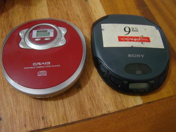 2 Discman Sony E Craig , Para Consertar