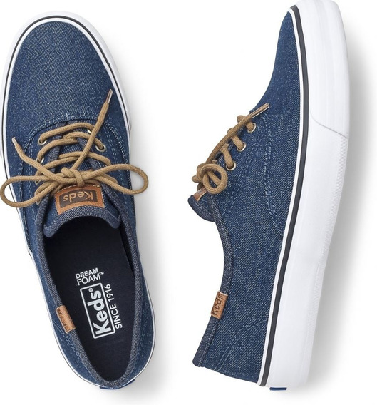 Tênis Keds Canvas Camel Original