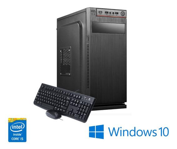Pc Maxprime Intel Core I5 4gb Ddr3 Ssd 480gb Windows10 Wi-fi