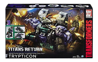 Transformers Generations Titans Return Trypticon 3 Modos